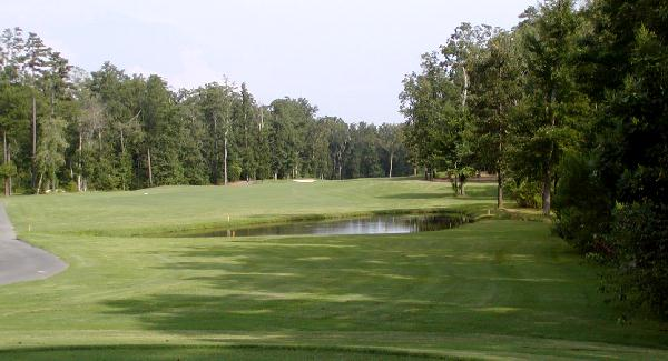 Charlotte National Golf Club, 13th tee