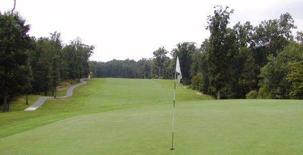 Charlotte Natioanl Golf Club, 7th Green